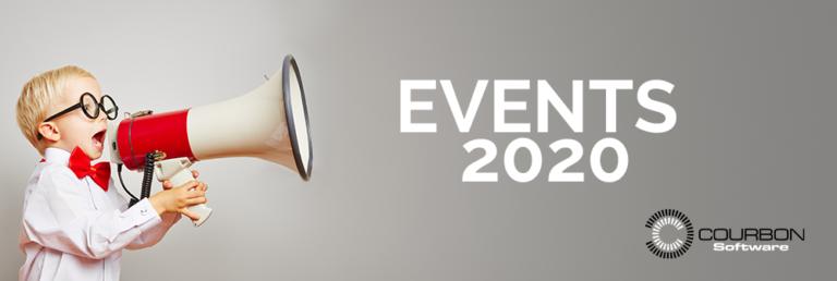 Evènement année 2020 Courbon Software