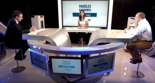 Jean-Michel BLANC et Thierry LAVEILLE invités sur le plateau de Paroles d'Expert La Tribune