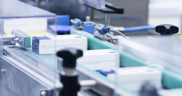 Serialisation sur une ligne de production pharmaceutique