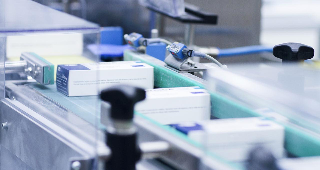 serialisation des médicaments sur une ligne de production pharmaceutique
